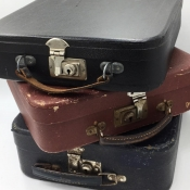 Shellac Suitcases