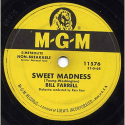 Bill Farrell - Sweet Madness / A Handful of Stars