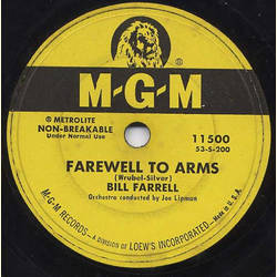 Bill Farrell - Farewell to Arms / Is it a Crime