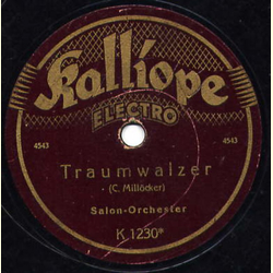 Salon-Orchester - An dich / Traumwalzer