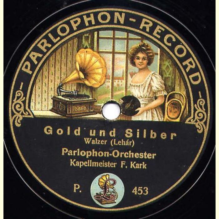 parlophon orch gold und silber ballsirenen leh r 16 50. Black Bedroom Furniture Sets. Home Design Ideas