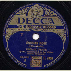 Donald Peers - Russian Rose/Just a Little Cottage