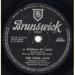Al Alberts / The Four Aces - A Woman in Love / I Only Know I Lov