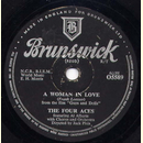 Al Alberts / The Four Aces - A Woman in Love / I Only...