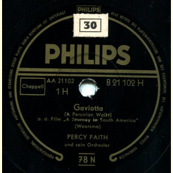 Percy Faith - Gaviotta / Tropic Holiday