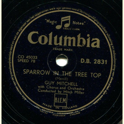 Guy Mitchell - Christopher Columbus / Sparrow in the Tree Top