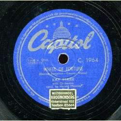 Kay Starr and Vocal Group / Kay Starr - I Wanna Love You / Wheel of Fortune