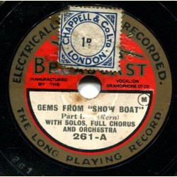 Solos, Full Chorus and Orchestra - Gems from Show Boat