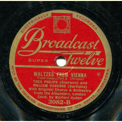 Thea Philips & William Parsons - Waltzes from Vienna