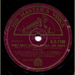 D. McCulloch, D. Gambell, S. Riley - Uncle Macs Nursery Rhymes