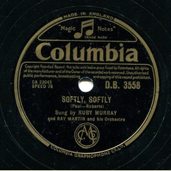Ruby Murray - Softly, Softly / What Could be More Beautiful