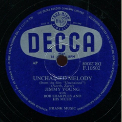 Jimmy Young - Unchained Melody / Help Me Forget
