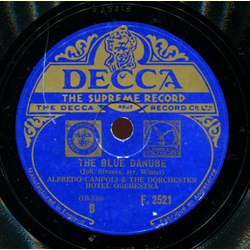 Alfredo Campoli and the Dorchester Hotel Orchestra - Voices of Spring / The Blue Danube