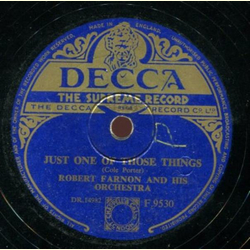Robert Farnon and His Orchestra - Just One of those Things / Invitation Waltz