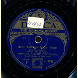 Alan Kane - You Havent Got Dreams / Blue Tahitian Moon