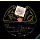 G.H. Elliott - Hundreds of Miles Away / Up with the Lark...