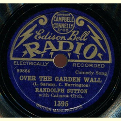 Randolph Sutton - Theres a Good Time Coming / Over the Garden Wall