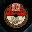 Nat Lewis and his Dance Band - Rio Rita / Youre Always in...