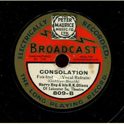 Harry Roy and his R.K. Olians - Oh! Monah! / Consolation
