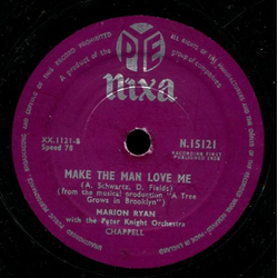 Marion Ryan - Love Me Forever / Make the Man Love Me