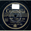 Carroll Gibbons - Piano Parade of 1938, 1. Partie / 2....