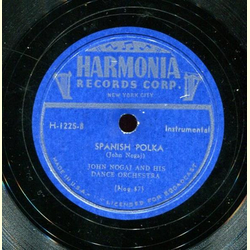 John Nogaj and his Dance Orchestra - Mambo Polka / Spanish Polka