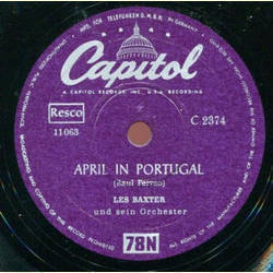 Les Baxter his Chorus and Orchestra - Suddenly / April in Portugal