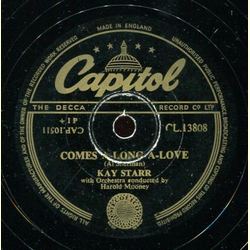 Kay Starr - Three Letters / Comes A-Long A-Love