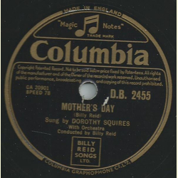 Dorothy Squires - Mothers day / So tired