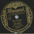 Bob Crosby and his Orchester - Gin Mill Blues/ Yancey Specia