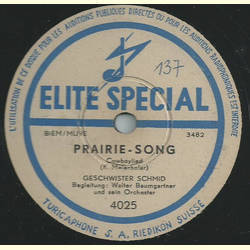 Geschwister Schmid - Addio, my Yankee, good bye / Prairie-Song
