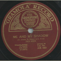 Jack Smith - Its just because Im falling in love with you / Me and my shadow