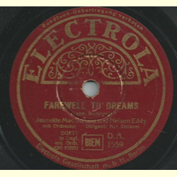 Jeanette MacDonald und Nelson Eddy - Farewell to dreams / Will you remember