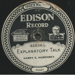 Marie Rappold ans Albert Spalding / Harry E. Humphrey - Ave Maria / Explanatory Talk