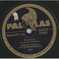 Hawaiian-Guitarren - Hawaii / One, two, three, four