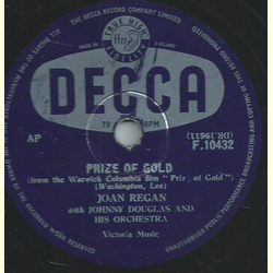 Joan Regan, Johnny Douglas and his Orch. - Prize of Gold / When youre in Love