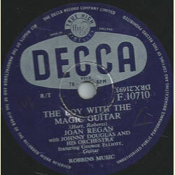 Joan Regan, Johnny Douglas and his Orch. - Dont take me for granted / The boy with the magic guitar