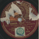 Paul Whiteman / Johnny Hamps Kentucky Serenaders - Ramona...