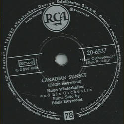 Hugo Winterhalters Orchestra and Chorus - This is real / Canadian Sunset
