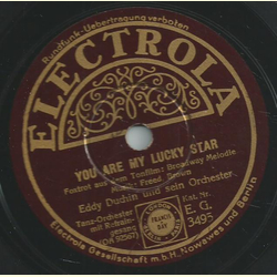 Eddy Duchin und sein Orchester - You are my lucky star / Ive got a feelin youre foolin