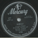 Richard Hayes and Xavier Cugat - Babalu / More than Love