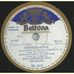 Jim Cameron and his band - Bonnie Anne / Gentle Shepherd