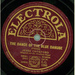 Jesse Crawford - The Dance of the blue Danube / I cant do without you