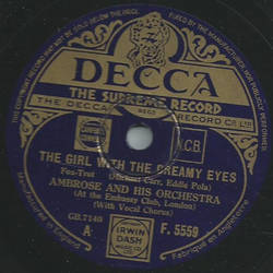 Ambrose and his Orchestra - The Girl with the dreamy eyes / In the merry month of may