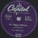 Don Robertson - The happy Whistler / Youre free to go