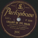 Nat Gonella & His Georgians - Lullaby of the volga /...