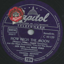 Les Paul und Mary Ford - How High The Moon / Mockin Bird...