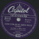 Les Paul und Mary Ford - Doncha Hear Them Bells / The...
