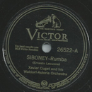 Xavier Cugat and his Waldorf-Astoria Orchester - Siboney...