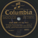 Albert Sandler and his grand Hotel Orchestra - Cest vous...
